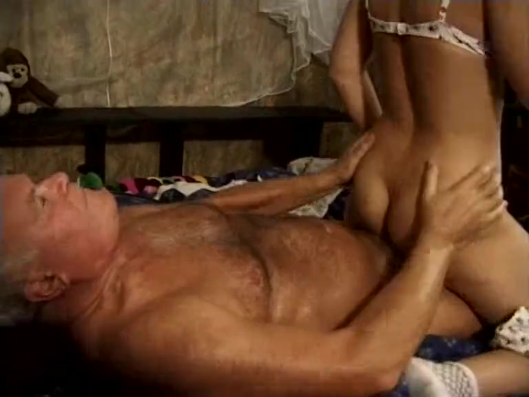 Vintage old vs. young hardcore fuck porn video