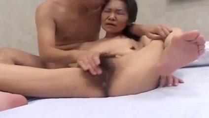 mature asian gets a good fucking