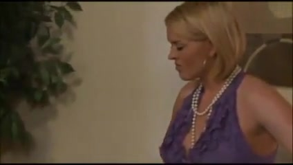 stunning milf in stockings and pearl necklace planned ahead
