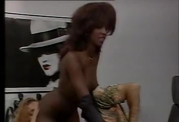 Hairy cunts enjoy lesbian action in this vintage video