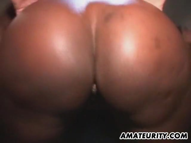 Black amateur girlfriend awesome bukkake