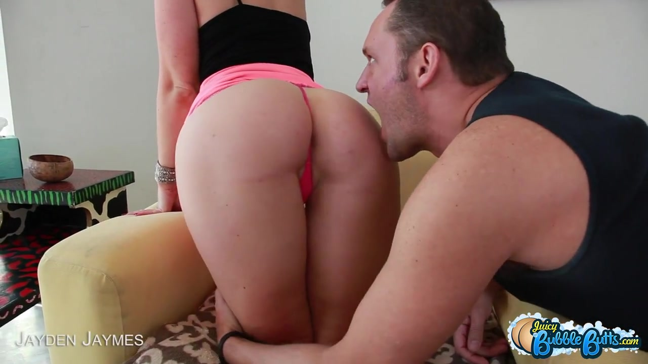 jayden jaymes shows her incredible ass before getting pounded
