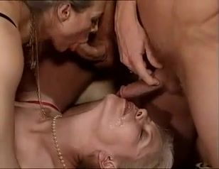 3 GRANNIES WITH FRENCH BBW OLGAHAVE FUN WITH 3 LOVERS