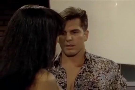 Hyapatia Lee, Steve Drake, T.T. Boy in nasty slut works on two big cocks in 1970s porn