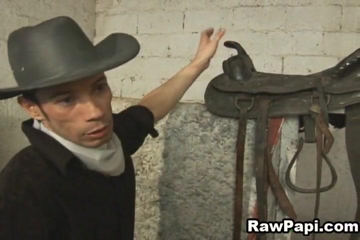 Gay Latin Cowboy Kinky Bareback Sex