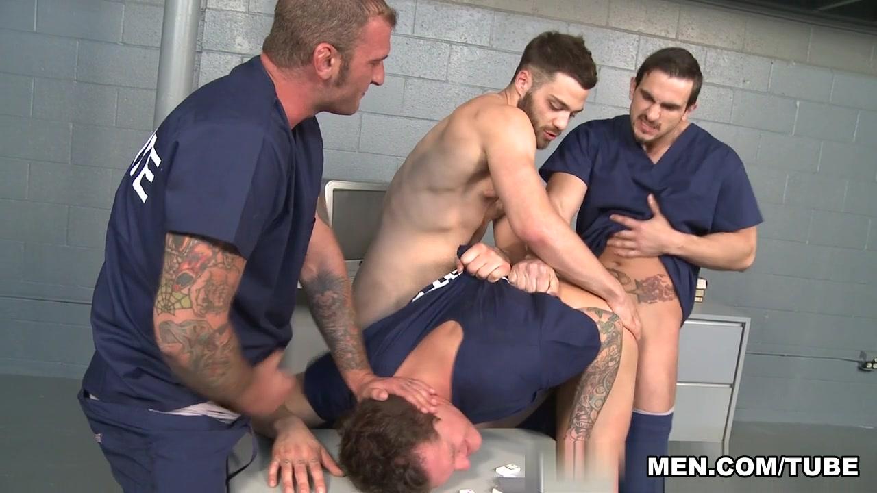 Parker London & Phenix Saint & Ricky Sinz & Tommy Defendi in Behind Bars 3 Video