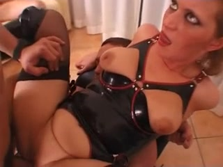 Mistress - Slave - Female Slave and three guests