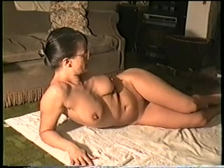 Nude oiled body