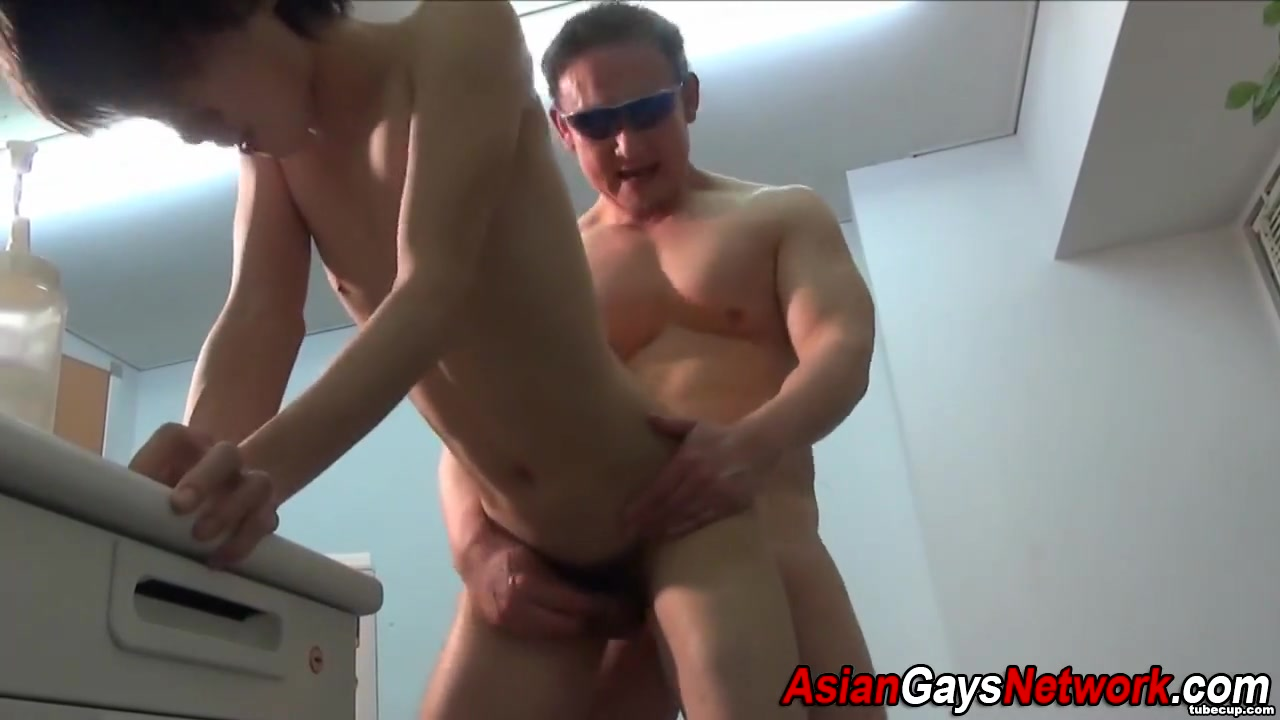 Japanese twink ass fucked