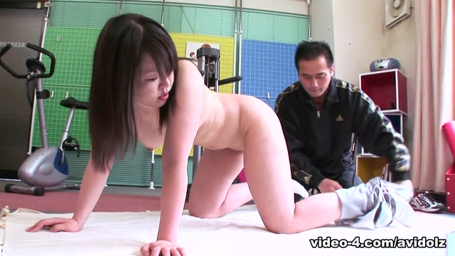 Rika Kitano in Asian cutie Rika Kitano sheds the pounds with gym sex – AviDolz