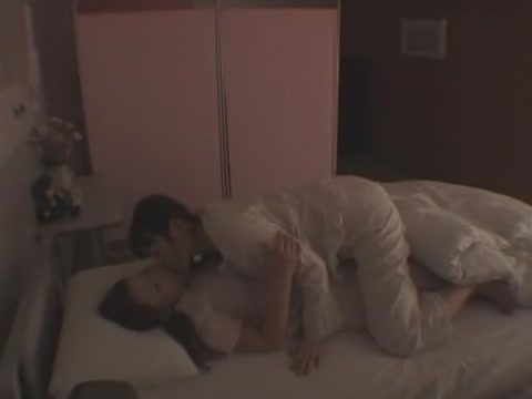 Exotic Japanese model in Horny Medical, Lesbian JAV scene