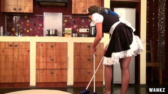 WANKZ- Maid Kisha Loves Herself Silly