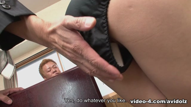 Arisa Suzuki in Arisa Suzuki got a task out of office – AviDolz